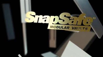 SnapSafe Modular Vaults TV Spot, 'Security Features' - Thumbnail 1