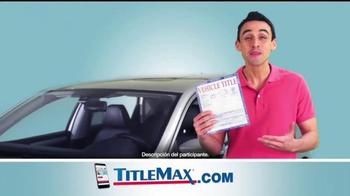 TitleMax TV Spot, 'Uno, dos y tres' [Spanish] - Thumbnail 10