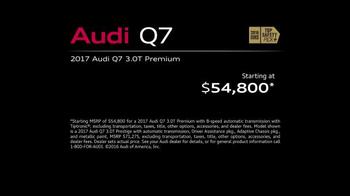 2017 Audi Q7 TV Spot, 'Turn Assist' - Thumbnail 7