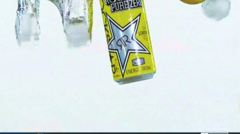 Rockstar Pure Zero Lemonade TV Spot, 'Refreshing Energy' - Thumbnail 4