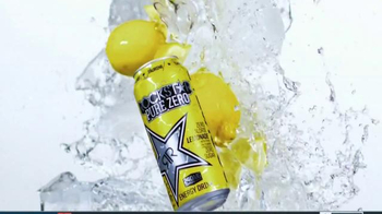 Rockstar Pure Zero Lemonade TV Spot, 'Refreshing Energy' - Thumbnail 8