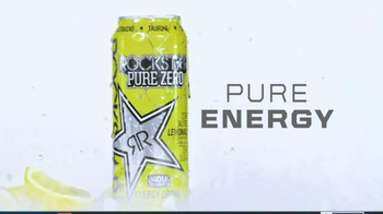 Rockstar Pure Zero Lemonade TV Spot, 'Refreshing Energy' - Thumbnail 9