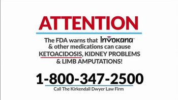 Kirkendall Dwyer LLP TV Spot, 'Type-2 Diabetes Medications'