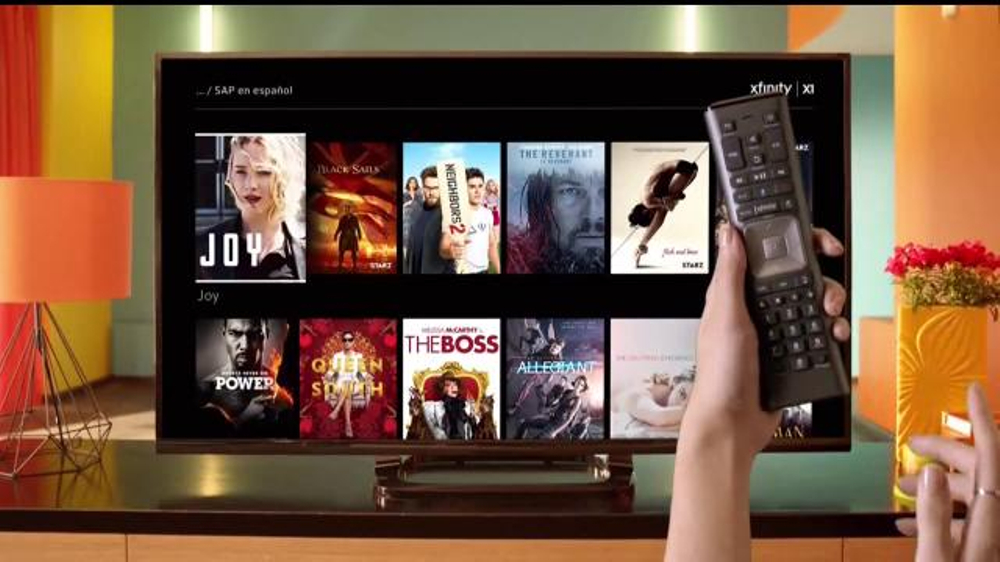 XFINITY X1 Entertainment Operating System TV Commercial, 'Opciones'