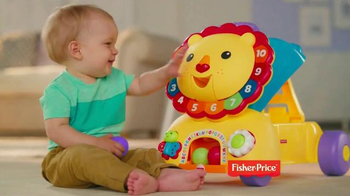 Fisher Price Sit, Stride & Ride Lion TV Spot, 'More Than Walking' - 2324 commercial airings