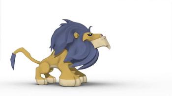 National Geographic Animal Jam TV Spot, 'Lion Flat' - Thumbnail 4