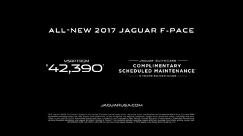 2017 Jaguar F-PACE TV Spot, 'British Intelligence' Feat. Stephen Hawking - Thumbnail 8