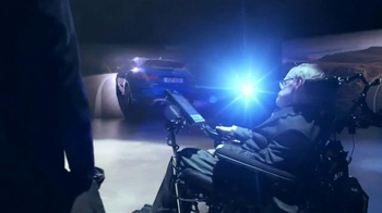 2017 Jaguar F-PACE TV Spot, 'British Intelligence' Feat. Stephen Hawking - Thumbnail 6