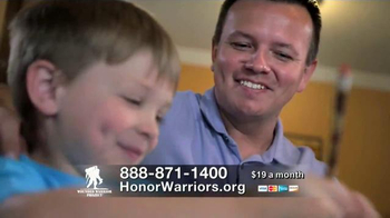 Wounded Warrior Project TV Spot, 'Honor & Support' - Thumbnail 8