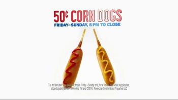 Sonic Drive-In Corn Dogs TV Spot, 'Corn-ival Games' - Thumbnail 9