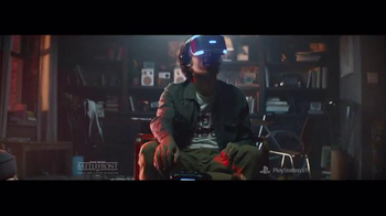 PlayStation VR TV Spot, 'Star Wars: Battlefront Rogue One: X-wing VR' - Thumbnail 2
