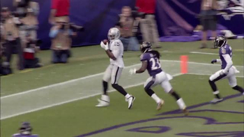Bridgestone TV Spot, 'Performance Moment: Raiders vs. Ravens' - Thumbnail 4