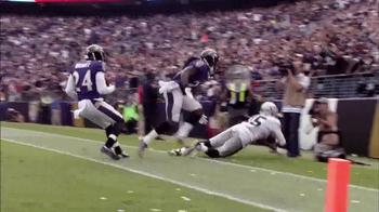 Bridgestone TV Spot, 'Performance Moment: Raiders vs. Ravens' - Thumbnail 5