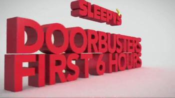 Sleepy's Columbus Day Sale TV Spot, 'Nearly Every Mattress' - Thumbnail 1