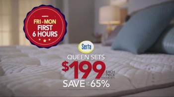 Sleepy's Columbus Day Sale TV Spot, 'Nearly Every Mattress'