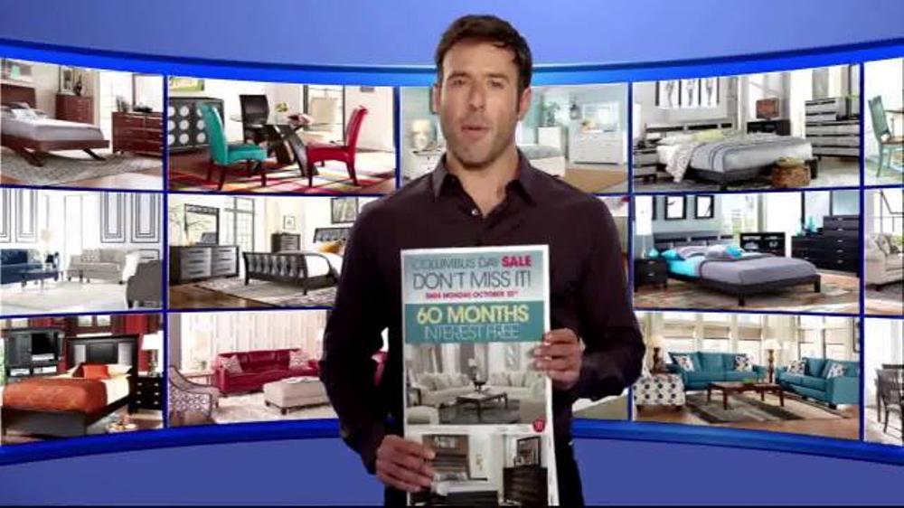 rooms to go columbus day sale tv commercial 39 every category 39. Black Bedroom Furniture Sets. Home Design Ideas