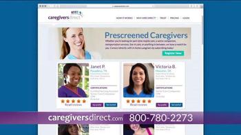 CaregiversDirect TV Spot, 'Find Your Perfect Caregiver' - Thumbnail 5