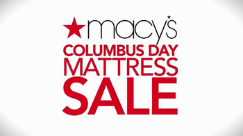 Macy's Columbus Day Mattress Sale TV Spot, 'Sealy, Serta and Financing' - Thumbnail 8