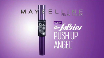 Maybelline New York Falsies Push Up Angel TV Spot, 'Pestañas' [Spanish] - Thumbnail 9