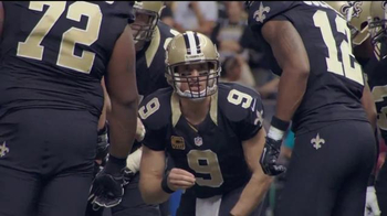 NFL Shop TV Spot, 'Earn the Right' Featuring Drew Brees - Thumbnail 2