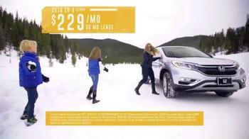 2016 Honda CR-V TV Spot, 'Western Washington: Own the Road' - Thumbnail 10