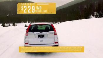 2016 Honda CR-V TV Spot, 'Western Washington: Own the Road' - Thumbnail 9