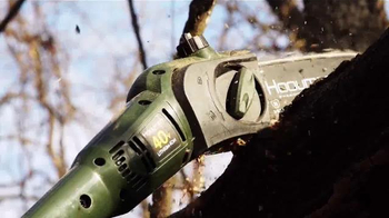 Hooyman Cordless 40V Lithium Pole Saw TV Spot, 'Maximum Reach' - Thumbnail 5