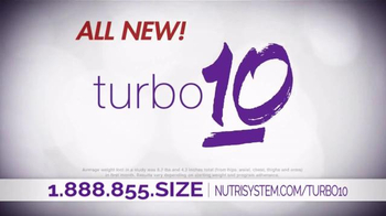 Nutrisystem Turbo10 TV Spot, 'Belly Bloat' Featuring Marie Osmond - Thumbnail 2