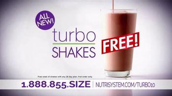 Nutrisystem Turbo10 TV Spot, 'Belly Bloat' Featuring Marie Osmond - 3524 commercial airings