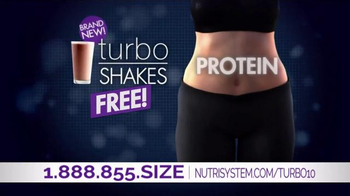 Nutrisystem Turbo10 TV Spot, 'Belly Bloat' Featuring Marie Osmond - Thumbnail 6