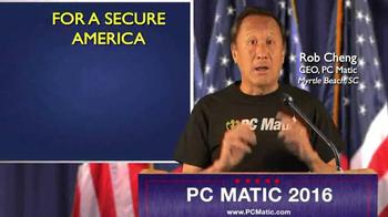 PCMatic.com TV Spot, 'PC Matic for President' - Thumbnail 1