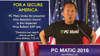 PCMatic.com TV Spot, 'PC Matic for President' - Thumbnail 6