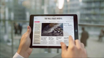 The Wall Street Journal App TV Spot, 'Get Ahead' Song by Katie Herzig - Thumbnail 2