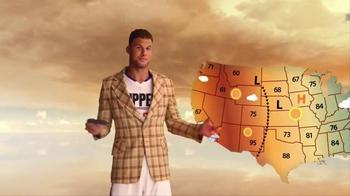 2016 Kia Optima TV Spot, 'Weatherman' Featuring Blake Griffin - Thumbnail 3