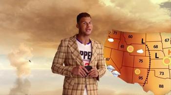 2016 Kia Optima TV Spot, 'Weatherman' Featuring Blake Griffin - Thumbnail 4