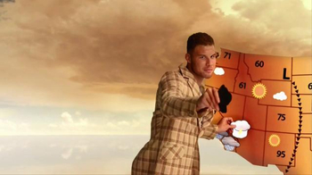 2016 Kia Optima TV Spot, 'Weatherman' Featuring Blake Griffin - Thumbnail 6