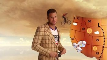 2016 Kia Optima TV Spot, 'Weatherman' Featuring Blake Griffin - 305 commercial airings