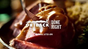 Outback Steakhouse Roasted Sirloin TV Spot, 'Roast & Slice' - Thumbnail 9