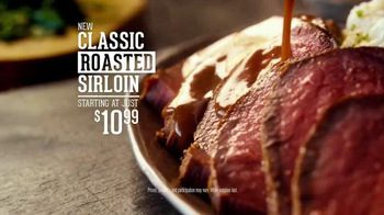 Outback Steakhouse Roasted Sirloin TV Spot, 'Roast & Slice'