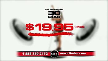 MaxiClimber TV Spot, 'Prueba el equipo de ejercicio' [Spanish] - Thumbnail 6