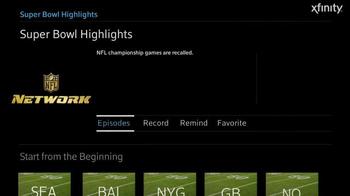 XFINITY TV Spot, 'NFL Network: Super Bowl Highlights' - Thumbnail 3
