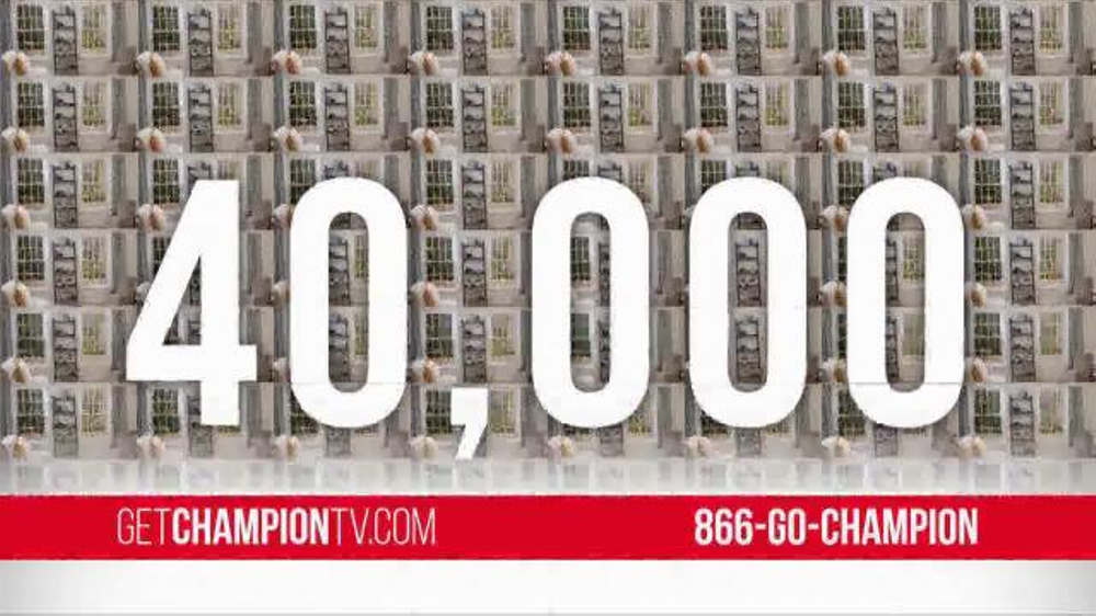 f3effd57dac0d6 Champion Windows TV Commercial