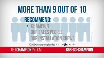 Champion Windows TV Spot, 'Survey' - Thumbnail 5