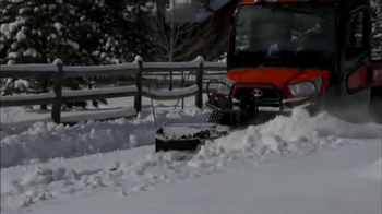 Kubota Get Set to Save Sales Event TV Spot, 'Snow' - Thumbnail 1