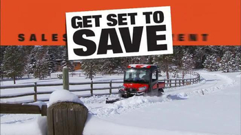Kubota Get Set to Save Sales Event TV Spot, 'Snow' - Thumbnail 2