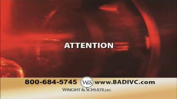 Wright & Schulte, LLC TV Spot, 'IVC Filter Implant' - Thumbnail 1