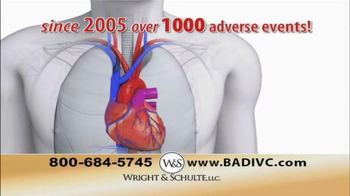 Wright & Schulte, LLC TV Spot, 'IVC Filter Implant' - Thumbnail 5
