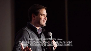 Conservative Solutions PAC TV Spot, 'Fear and Quoting' Feat. Marco Rubio - Thumbnail 7