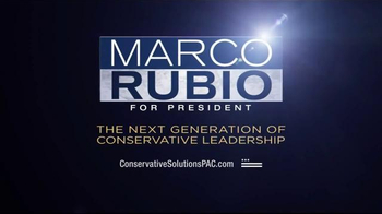 Conservative Solutions PAC TV Spot, 'Fear and Quoting' Feat. Marco Rubio - Thumbnail 6