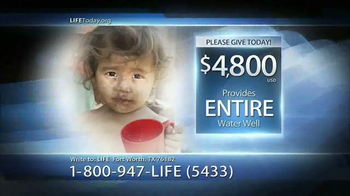LIFE Outreach International TV Spot, 'Water for Life' - Thumbnail 9